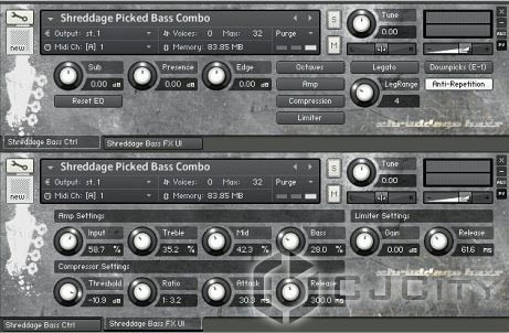 Impact Soundworks Shreddage Bass: Picked Edition