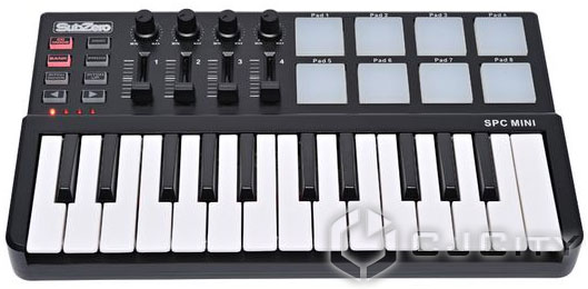 SubZero SPC Mini Key and Pad MIDI Controller