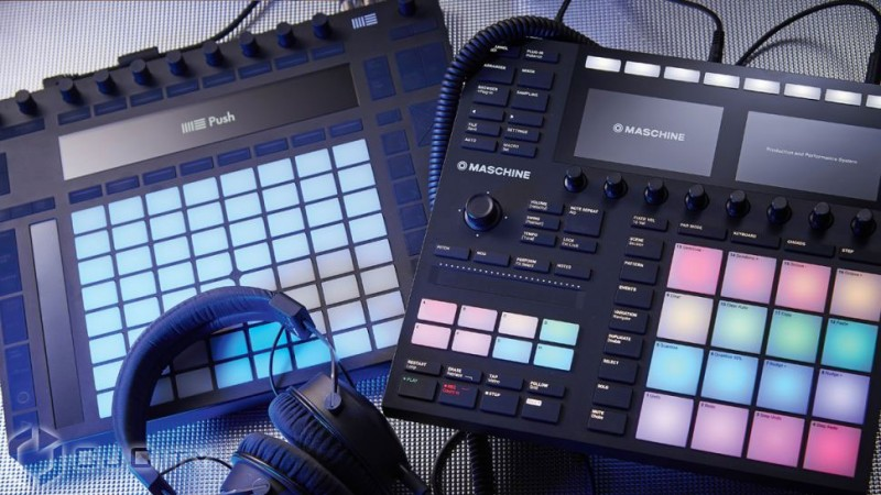 Сравнение Ableton Push 2 и Native Instruments Maschine Mk3