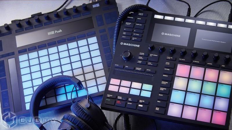 Сравнение Ableton Push 2 и Native Instruments Maschine Mk3