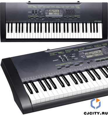 Синтезатор Casio CTK-2000