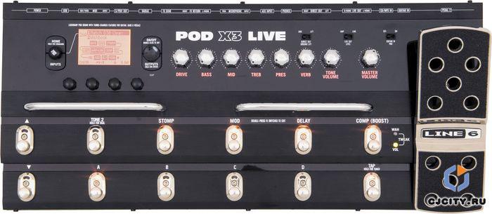 Line 6 Pod X3 Live