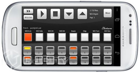 Niko Twenty Electrum Drum Machine-Sampler