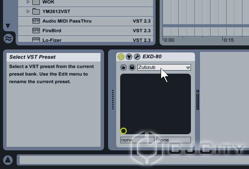 Рис.8 - Выбираем пресет для EXD-80