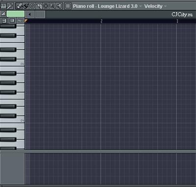 Рисунок 4. Piano roll в FL Studio 7