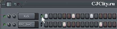 Выбор канала в FL Studio 7