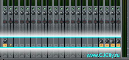 Распределительный блок в микшере FL Studio