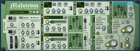 malstrom в Propellerhead Reason 3.0
