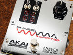 Akai Drive3 Fuzz и Akai Phase Shifter