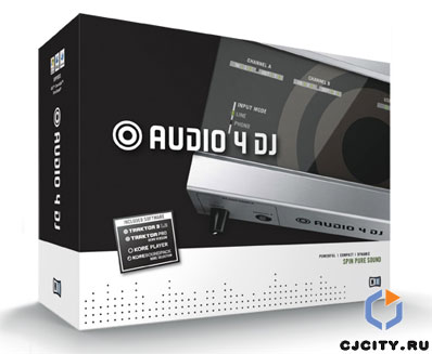NI AUDIO 4 DJ