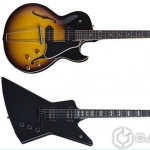 Gibson Explorer Blackout � 59 ES-225 TD