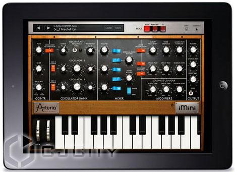 Виртуальный синтезатор Arturia iMini