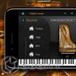 симулятор пианино UVI Ravenscroft 275 для iOS