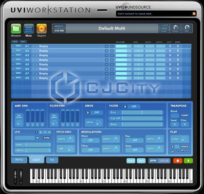 Скачать Ultimate Sound Bank UVI Workstation