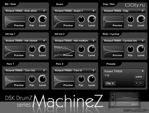 Скачать DSK DrumZ MachineZ