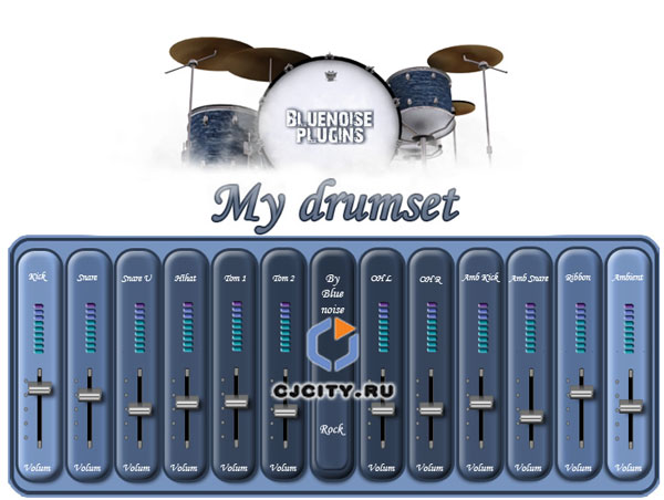 Скачать Bluenoise Plugins My Drumset