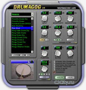 Скачать WaveMachine Labs Drumagog 4.11