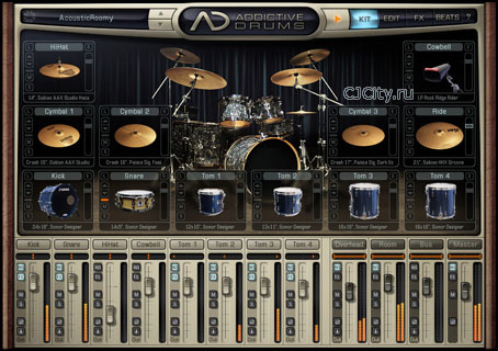 Скачать XLN Audio Addictive Drums