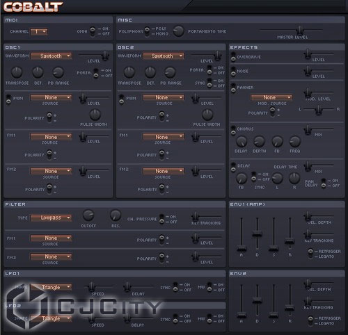Sanford Sound Design Cobalt