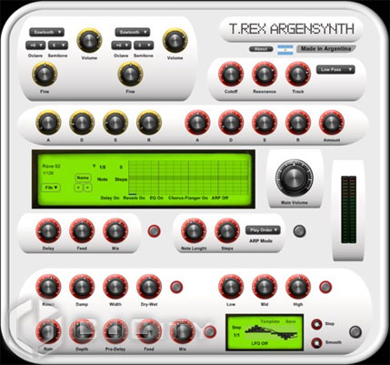 Max Project T.Rex ArgenSynth