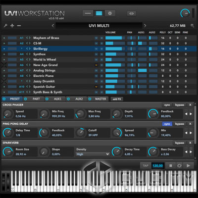 ������� UVI Workstation 2